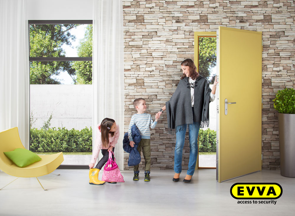 EVVA access-to-security-door