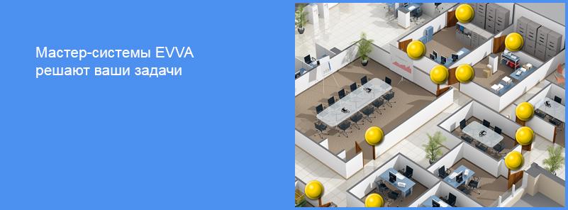 Мастер-системы EVVA решают ваши задачи