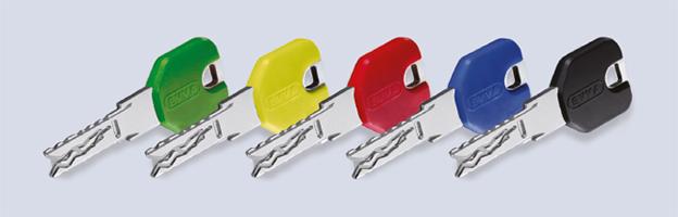 Ключи с разноцветными головками